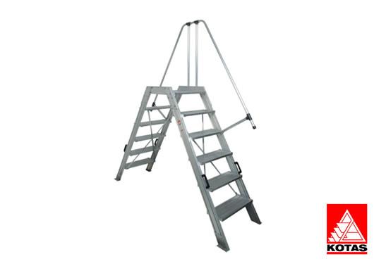 Escalera industrial puente eskalia escaleras profesionales for Escaleras kotas