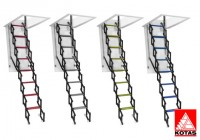 Escalera Techo Modelo Cool