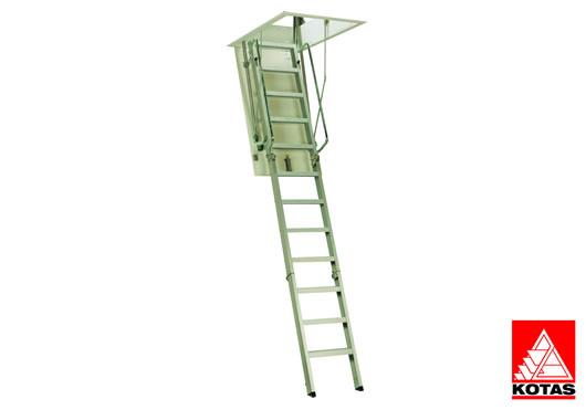Escalera techo modelo c3 eskalia escaleras profesionales for Escaleras kotas